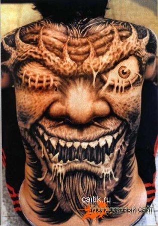 Cтрашные татуировки