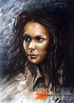 Портрет девушки (Непогода)