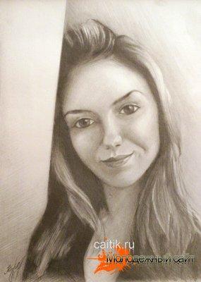 Рисунок карандашом (Катя)