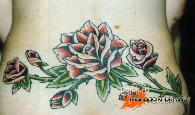 Татуировки с цветами значение