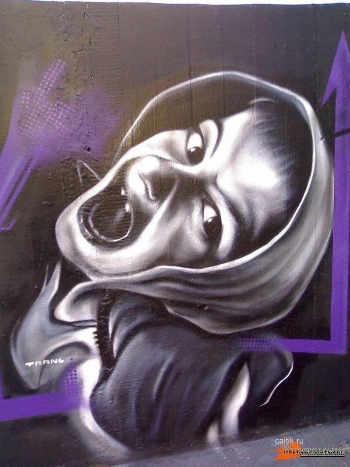 Фотореалистичные граффити