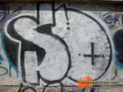 Настенные рисунки граффити