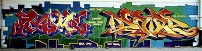 Рисунки города граффити