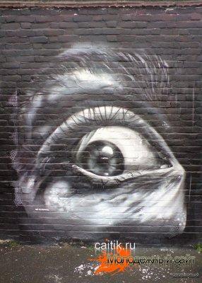 Рисунки на стенах фото