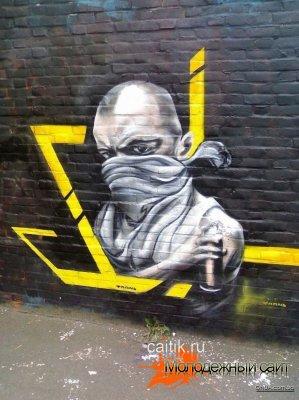 Граффити портреты