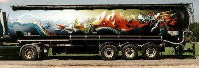 Объемное граффити