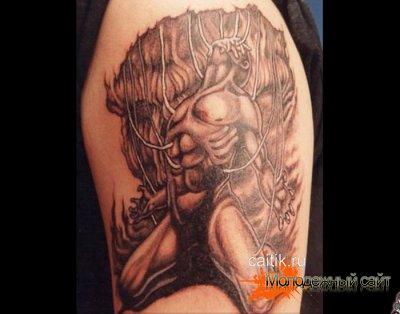 Необычные татуировки