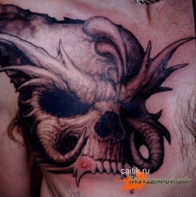 Страшные татуировки фэнтези