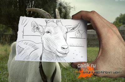 Креативные рисунки карандашом