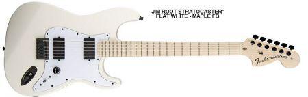 Fender jim root stratocaster именная гитара