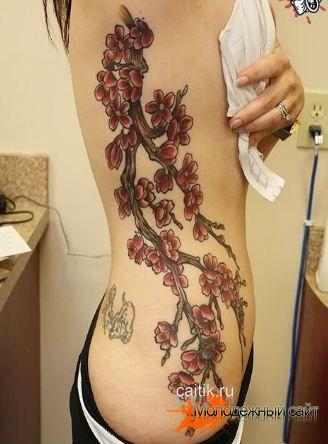 Популярные женские татуировки