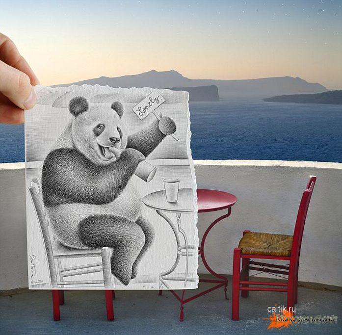 картинки рисунки необычные