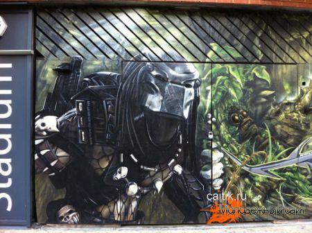 Лондонские граффити