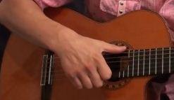 игра боем на гитаре