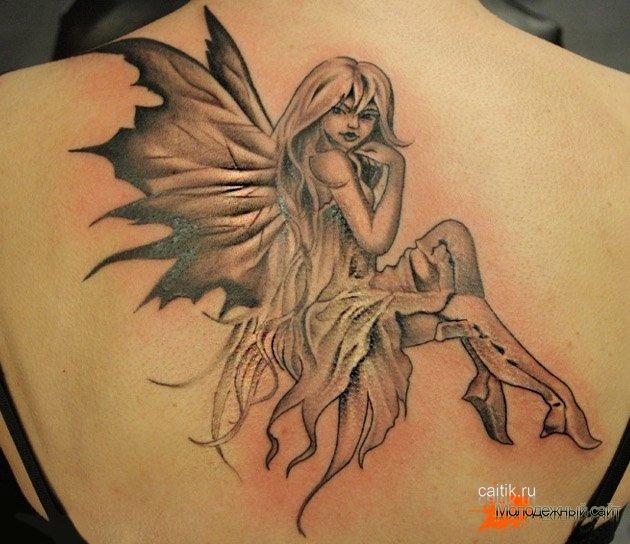 татуировка феи