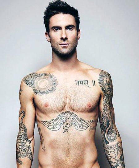 Татуировки Adam Levine
