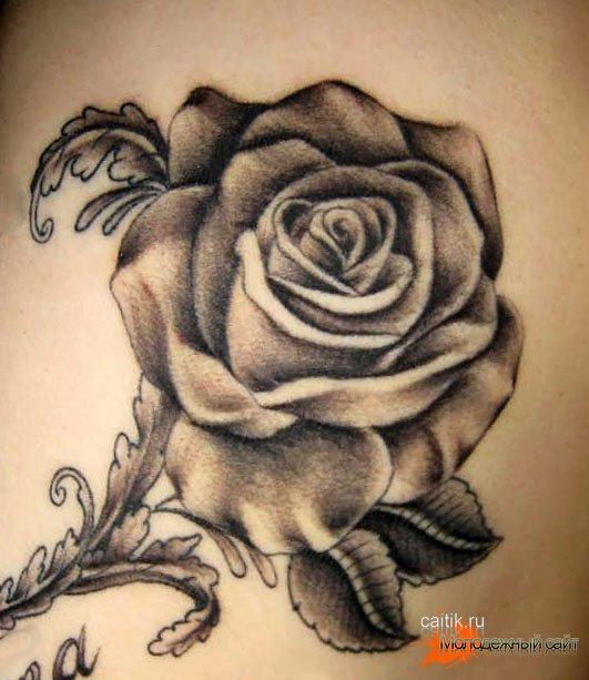 картинки татуировок розы