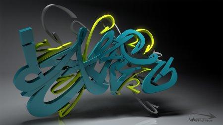 Граффити обои