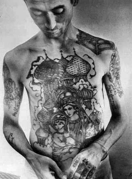 Татуировки зеков