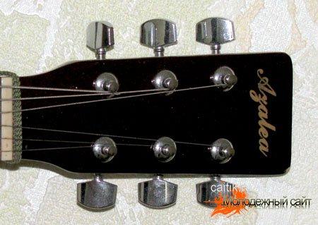 Замена струн на гитаре