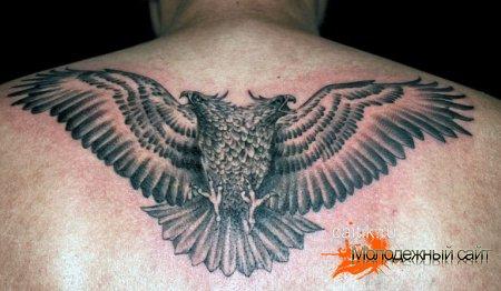 татуировка двуглавый орел