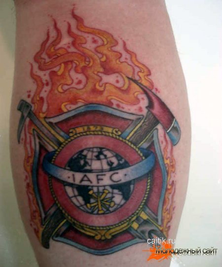 Татуировка мальтийский крест