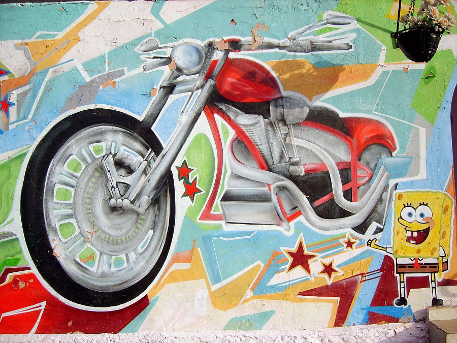 Граффити DALeast