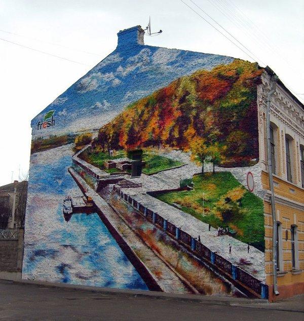 Граффити в Гомеле