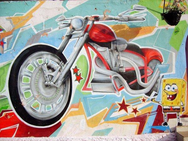 граффити в городе Гомеле