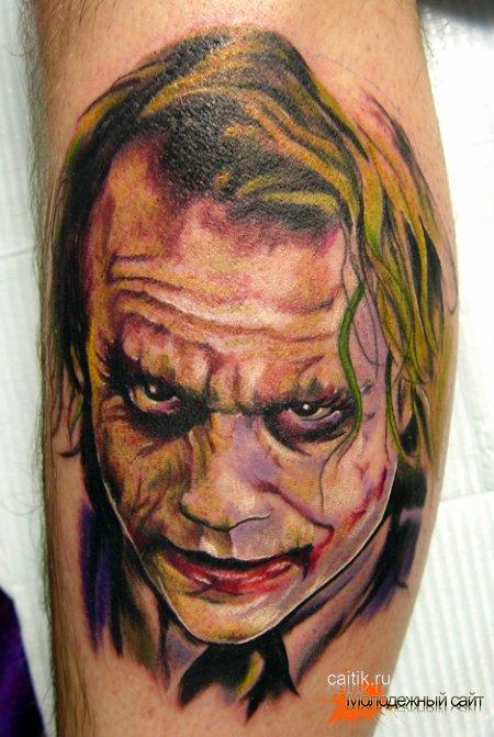Татуировка Джокер