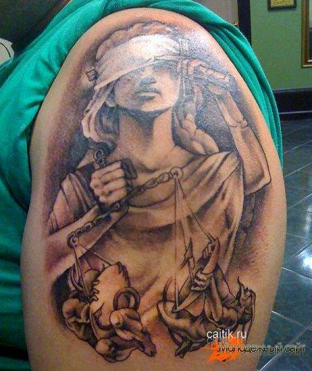 Татуировка Фемида