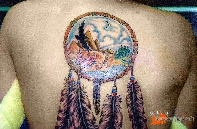 Татуировка ловец снов значение