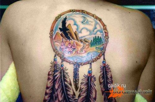 значение татуировки Ловец снов и ее происхождение