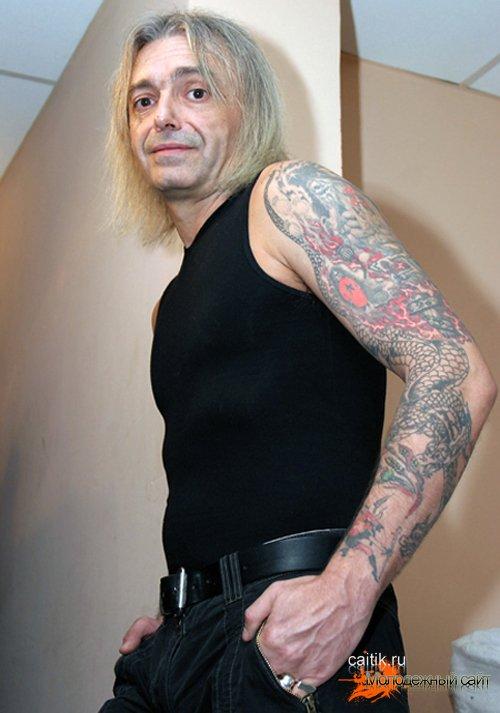 татуировки кинчева