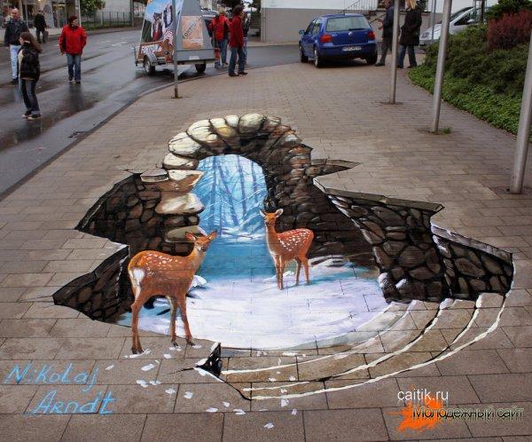 3D рисунки Николая Арндта