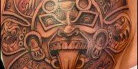 татуировка солнце ацтеков