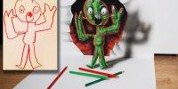 Ramon Bruin и его 3D рисунки