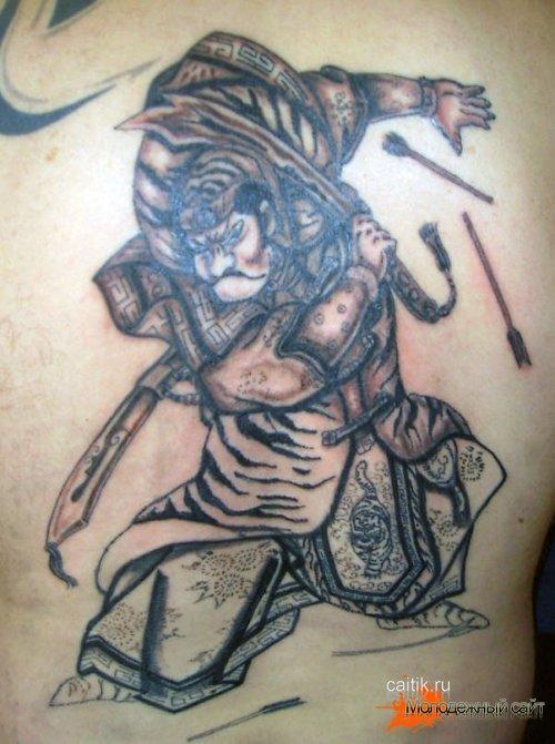татуировки самураев