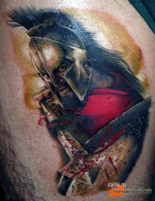 татуировки с воинами