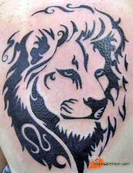 Рисунки львов как татуировки