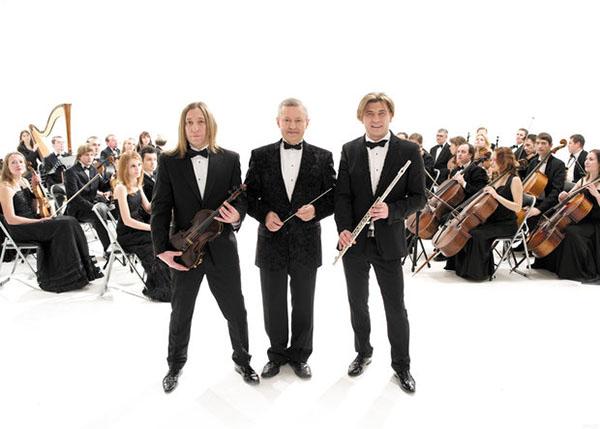 Первый концерт Би-2 в сопровождении симфонического оркестра в Минске