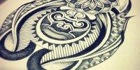 Эскизы татуировок в стиле дотворк
