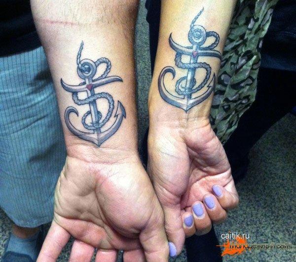 татуировки символы верности