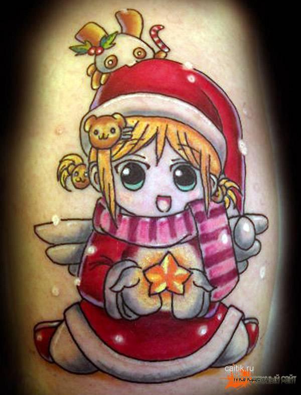 рождество татуировки