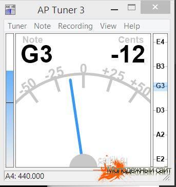 Ap Tuner главное окно программы