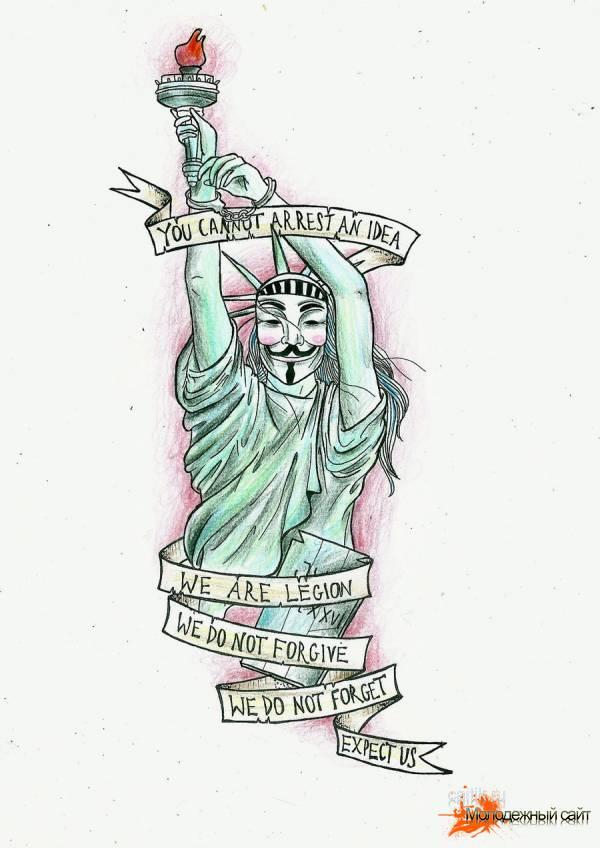 Вендетта статуя свободы