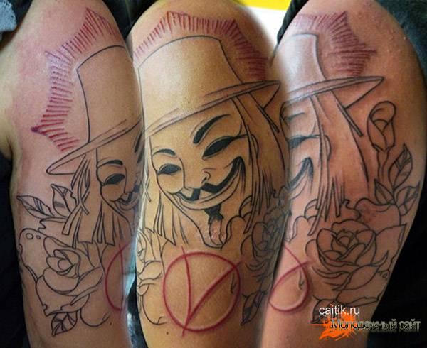 Эскизы Вендетта для татуировок