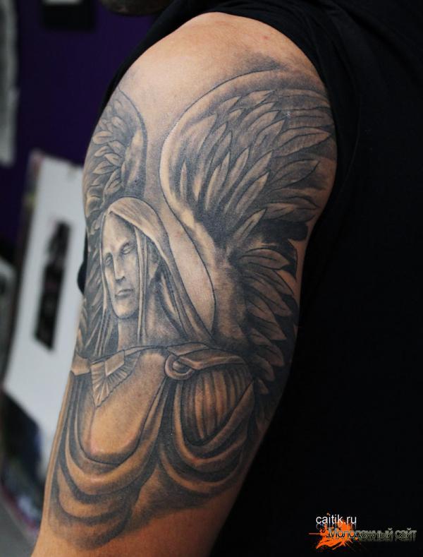 Архангел Михаил татуировка