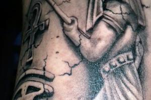 Татуировка Анубис