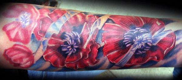 татуировки маки